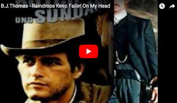 Raindrops Keep Fallin' On My Head - B.J.Thomas