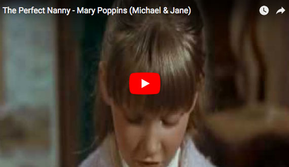 Mary Poppins - Jane Banks - The Perfect Nanny