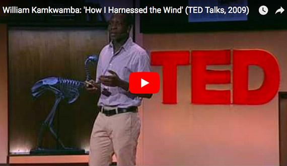 William Kamkwamba: 'How I Harnessed the Wind'