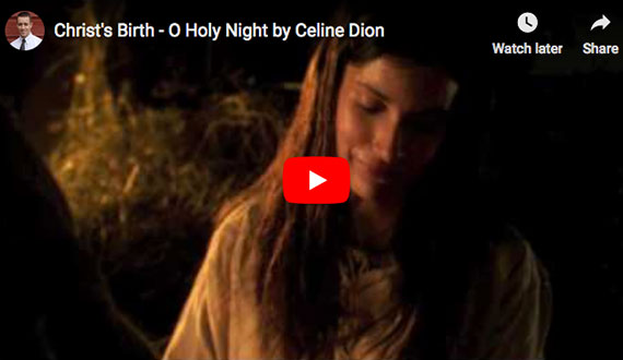 Celine Dion:  Oh Holy Night
