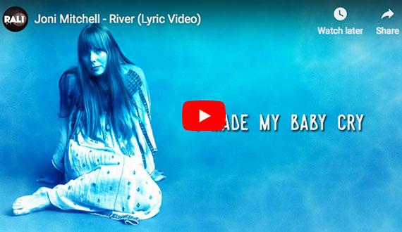 Joni Mitchell:  River